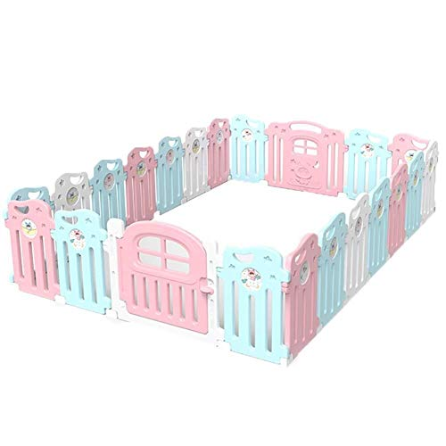 Check Out This Playard Baby Playpen Children's Play Fence Room Divider, Baby Indoor Protective Fence...