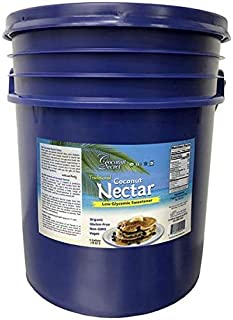 Coconut Secret Raw Organic Coconut Nectar - 5 Gallon