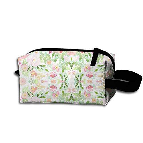 Travel Makeup Blooming Fairy Florals Beautiful Waterproof Cosmetic Bag Quick Makeup Bag Pencil Case