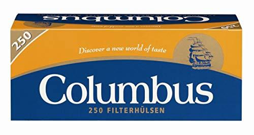 Zigarettenhülsen Columbus King Size 1.000 Stück