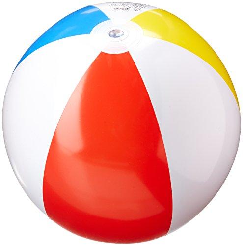 "Intex FBA_59020Ep 3 Pack Glossy Panel Colorful Beach Ball Inflatable Pool, 20"""