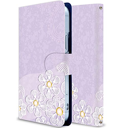 iitrust arrows Be4 F-41A Case Folio Stand Function with Card Holder PU Leather Cherry Blossom 3 AF41A-Y01-AY15