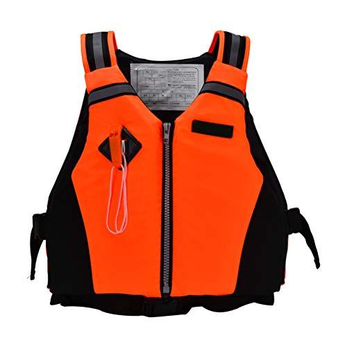Tianbi Crewsaver Chaleco Salvavidas Deportes de Remo Dinámico Chaleco Salvavidas Chaleco de Supervivencia con Silbato de Emergencia Y Tiras Reflectantes para Nadar Canotaje Kayak Canoa