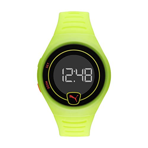 Puma Faster - Reloj Digital para Hombre con Correa Verde - P5030