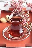 Eda - Set di 12 bicchieri da tè turchi