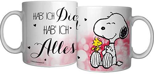 PEANUTS Snoopy Tasse Kaffeetasse Becher Mug