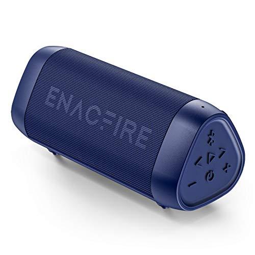 Bluetooth Speaker, ENACFIRE SoundBar [Blue] Portable Wireless Speakers...