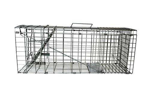 conigli, scoiattoli, visoni, gatto selvatico, parassiti, animali gabbia trappola pieghevole