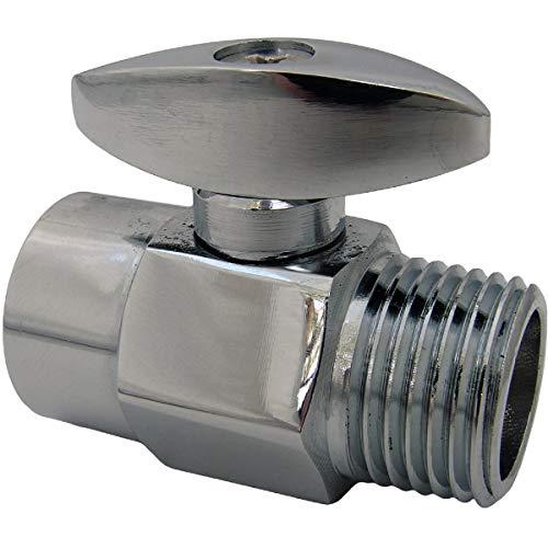Larsen Supply 08-2471 Brass Shower Head Flow Adjuster