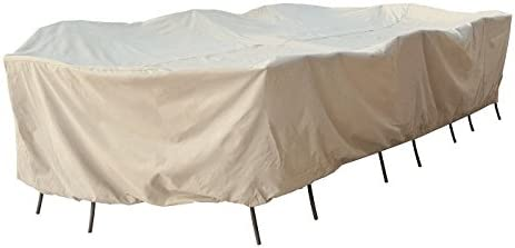 Treasure Max 40% OFF Ranking TOP16 Garden 2XL Large Oval Rectangle w Chairs ties 8 Table