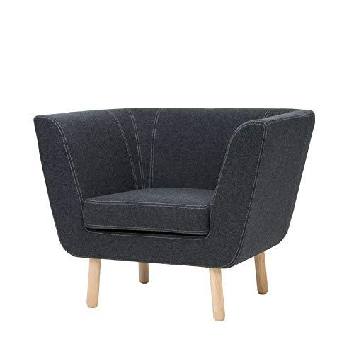 Nest Easy Chair Sessel Design House Stockholm-Dunkelgrau