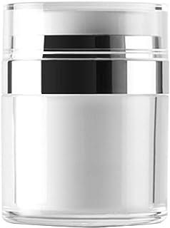 Vi.yo 小分け容器 トラベルボトル 真空押し式詰替用ボトル 携帯用 旅行 出張用 クリーム 軟膏 乳液など入り 30g