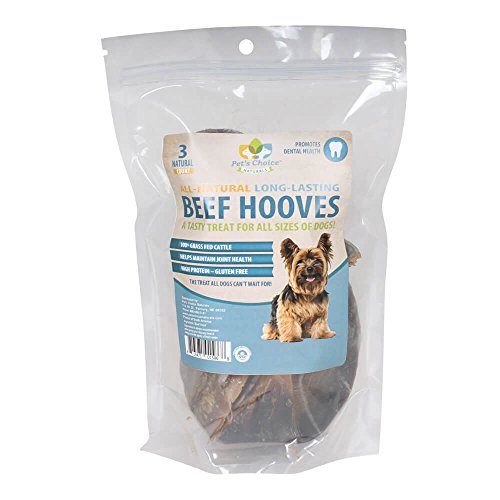Pet'S Choice 3-Pack Cow Hooves Treat