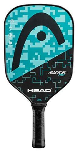 HEAD Fiberglass Pickleball Paddle - Radical Pro Textured Paddle w/Honeycomb Polymer Core & Comfort Grip