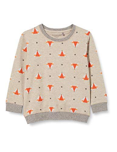 bellybutton Baby-Jungen Sweatshirt T-Shirt, Allover|Multicolored, 92