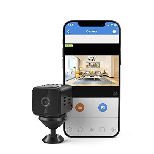 MINI VIDEOCAMERA RICARICABILE HD 1080P PER PC MAC SMARTPHONE SIM/TF CARD