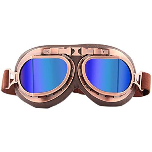 XKJFZ Gafas de esquí Unisex a Prueba de Viento Gafas de Seguridad Gafas al Aire Libre para la Motocicleta del esquí Ciclismo de Motos de Nieve de Invierno Colorido Suministros Caliente del Invierno