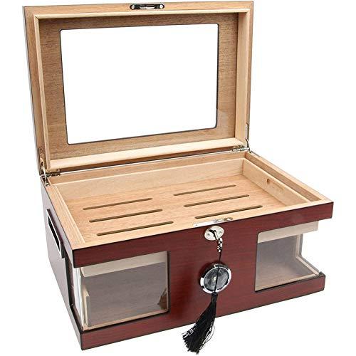 Getrichar Travel Sized Cigar Humidor Cigar Box, Groomsman Cigar Case, Best Man Gift