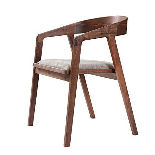 YLCJ Nordic massief hout studiestoel Studio stoel Kantoorstoel Leren kruk IKEA stoel Massief hout literaire stoel Stoel
