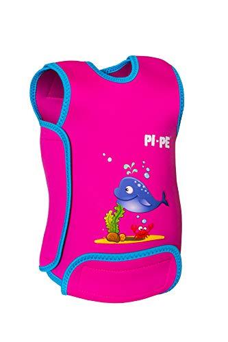 PI-PE Baby Warmer Neopren Schwimmanzug Magenta L (12-18 Monate)