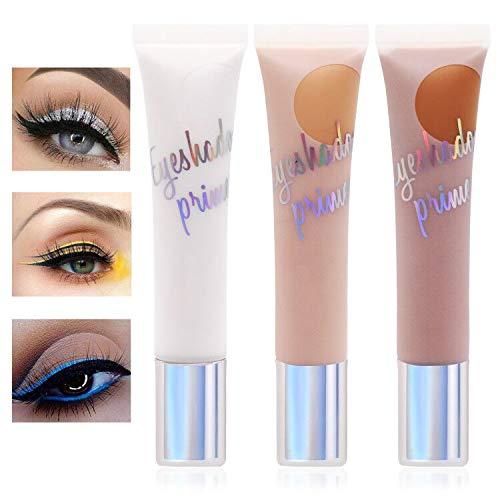 Sombra de Ojos Liquida, Base de Sombra de Ojos de Maquillaje, Fácil de Colorear, Maquillaje Waterproof, 24 Horas a Prueba de Agua de Larga Duración- -3 Colores