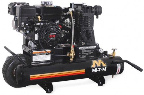 Mi-T-M AM1-PH65-08M Portable Air Compressor, 8-Gallon,...