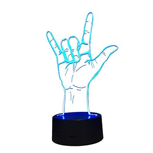 KDXBCAYKI USB LED nachtlampje afstandsbediening touch-sensor draadloos batterij-aangedreven tafellamp mobiel voor kinderkamer hal slaapkamer