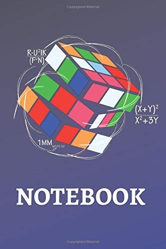 Rubik Cube Math Notebook: 6 x 9 Rubik Cube Math Notebook, Rubik Cube Journal, 120 Pages Graph 4 x 4