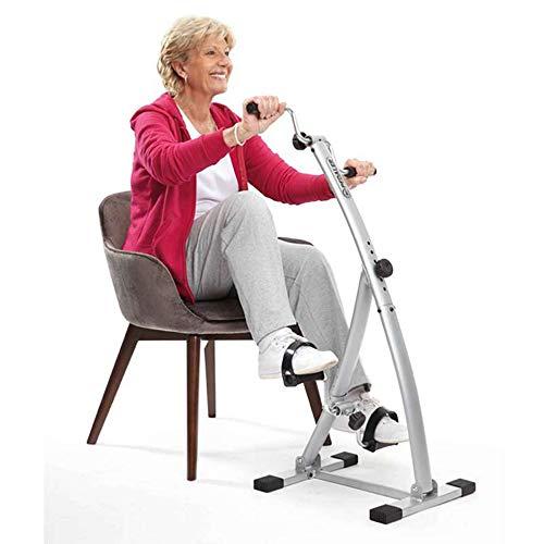 Bi-pedaler - Pedaliera per Riabilitazione, Pieghevole, Colore: Argento; Codice dell'Articolo: 08136