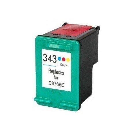 Cartucho de Tinta HP343 Color Genérico C8766EE 18ml