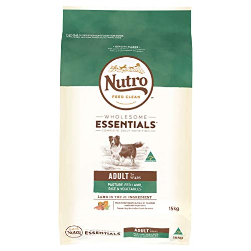 NUTRO Wholesome Essentials Lamb & Rice Dry Dog Food, 15kg