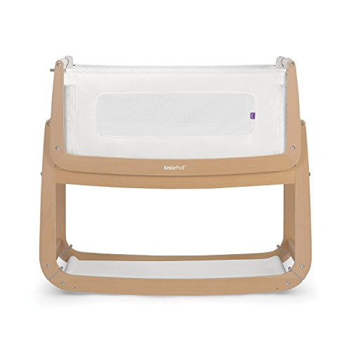 SnuzPod 3 Bedside Crib Natural
