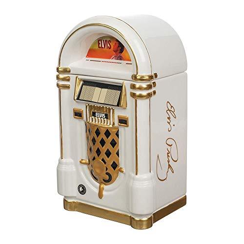 Elvis Presley Pop Icon Custom Sculpted Jukebox Cookie Jar