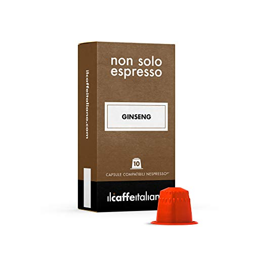 50 Ginsengkapseln mit dem Nespresso System kombpatible - Il Caffè Italiano
