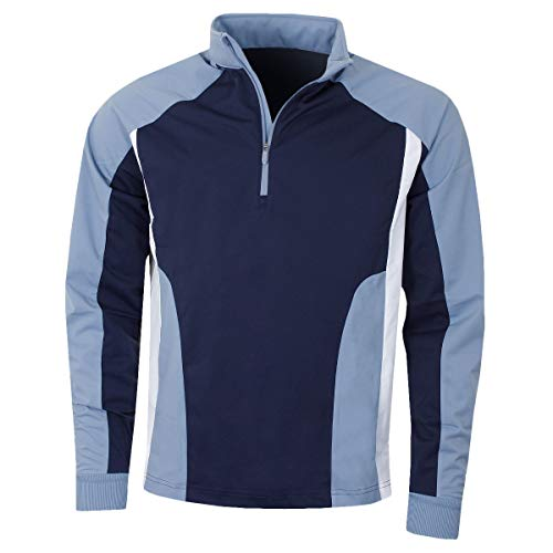 Callaway Golf Mens LS Leistung 1/4 Zip Pullover - Peacoat - XXL