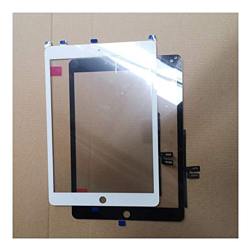 Logo Screen 10.2 Inch Fit For Apple IPad 7 10.2 7th Gen A2197 A2198 A2200 Touch Screen Digitizer Outer Glass Panel Replacement Parts (Color : White)
