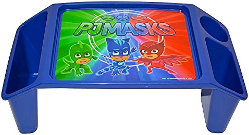 PJ Masks Superhero Team Activity Tray With 2 Storage Wells 1 Cup Pencil Crayon Holder