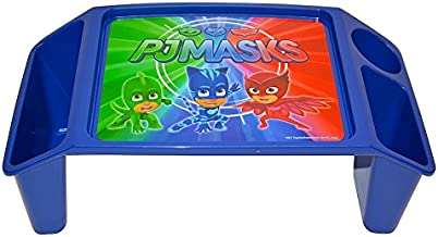 PJ Masks Superhero Team Activity Tray with 2 Storage Wells & 1 Cup/Pencil/Crayon Holder