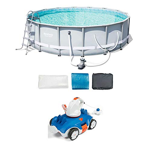 Why Should You Buy Bestway 16-Foot Frame Pool Set + Aquatronix Autonomous Pool Cleaning Robot