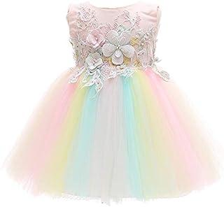 9762a304d10 Monimo Bébé Fille Robes de Baptême Pleine Robe de Princesse