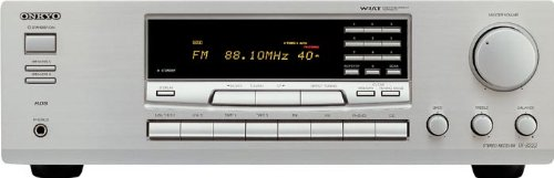 Onkyo TX 8222 Stereo-Receiver Silber