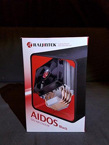 Raijintek Aidos CPU Air Cooler with 92mm Fan Black