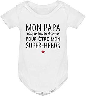 53520e0631639 Amazon.fr   super papa - Bébé   Vêtements