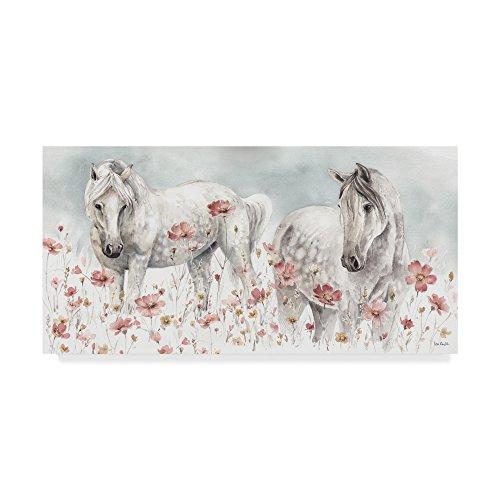 Trademark Fine Art Wild Horses III by Lisa Audit, 24x47, Multicolor