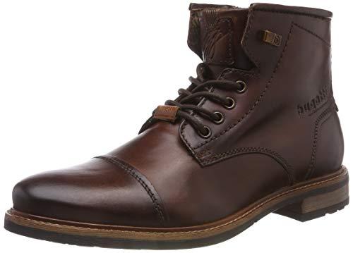 bugatti Herren 311377391100 Klassische Stiefel Kurzschaft Stiefel , Braun , 45 EU