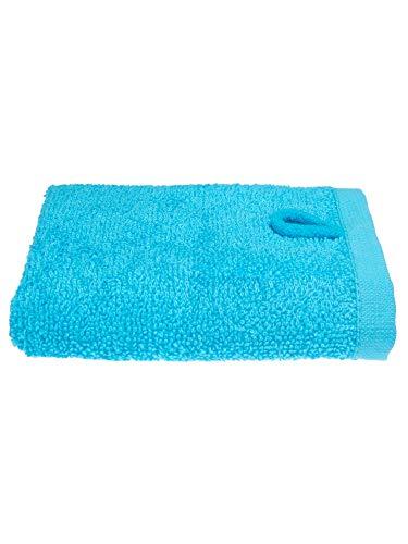Julie Julsen Gant de toilette en 12 couleurs au choix doux et absorbant Öko Tex Turquoise 30 x 30 cm