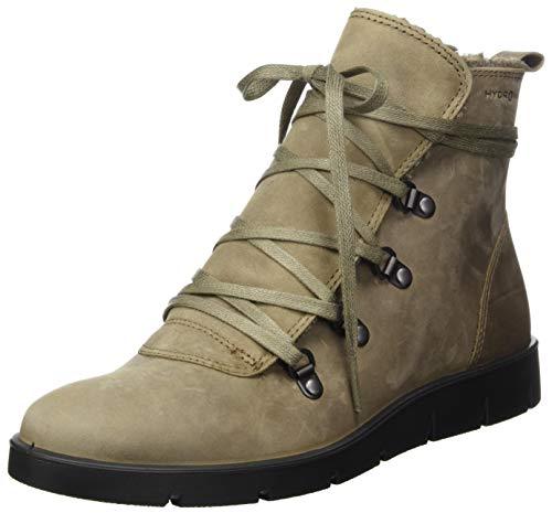ECCO Damen Bella Stone Oil Nubuck Ankle Boot, Grau, 39 EU