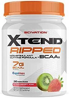 【海外直送品】Scivation Xtend Ripped BCAA 30杯分 (ストロベリーキウイ)