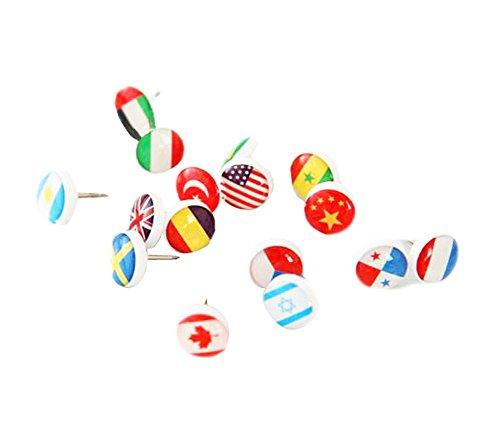 Drapeau Papeterie créative Pins décoration colorée