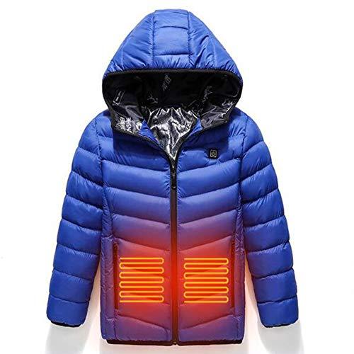 Way bocke Camisa con Calefacción para Niños, USB, Eléctrico, 3 Zonas, Calefacción,...
